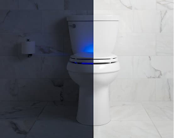 Kohler's nightlight toilet seat