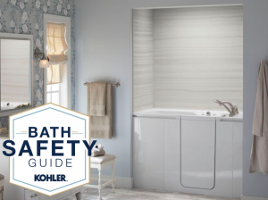 Bath Safety Month image.