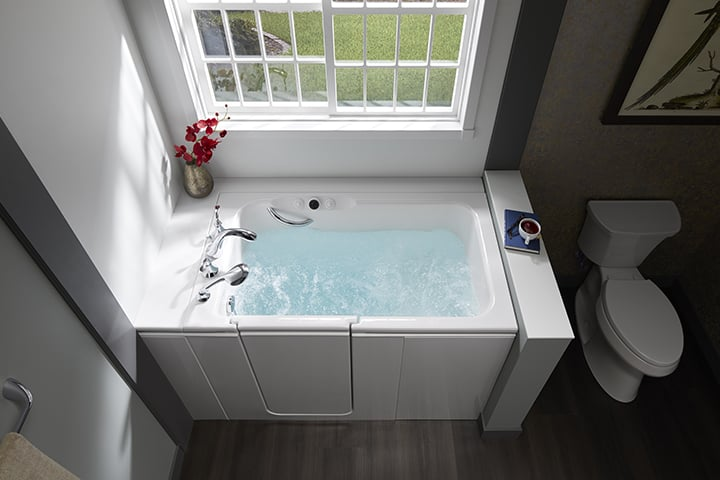 KOHLER Walk-In Bath combination tub