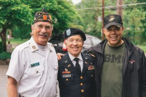 Picture of United States Veterans Smiling