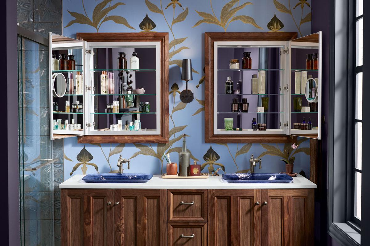 double vanities in bathroom