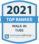 Consumers Advocate: 2019 Top 10 Ranked Walk-In Tubs