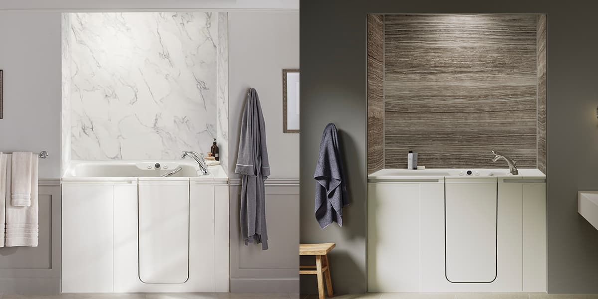 Customize Your Bath Wall Colors