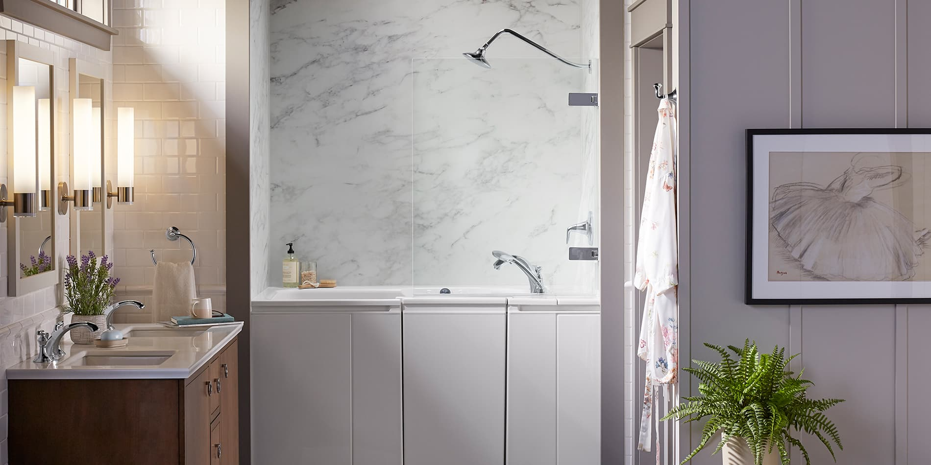 Bath and Shower Combo by KOHLER