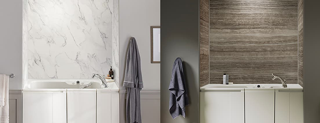 LuxStone™ Bath Wall Options
