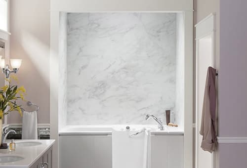 LuxStone Bath Walls