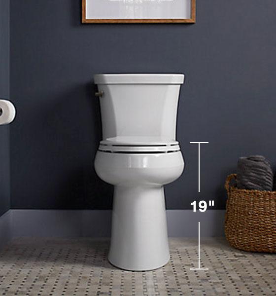 KOHLER Highline® Tall Toilet