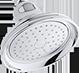 traditional showerhead